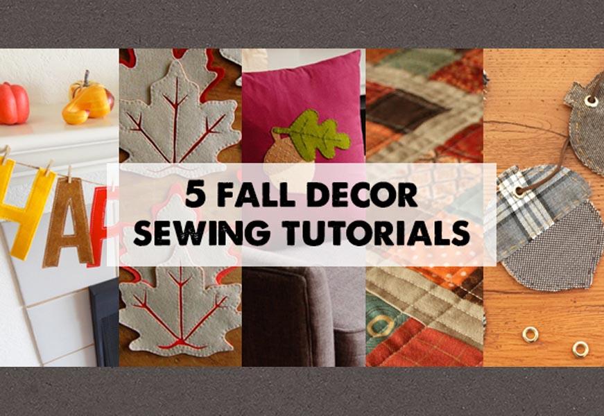 5 Autumn Home Decor DIYs
