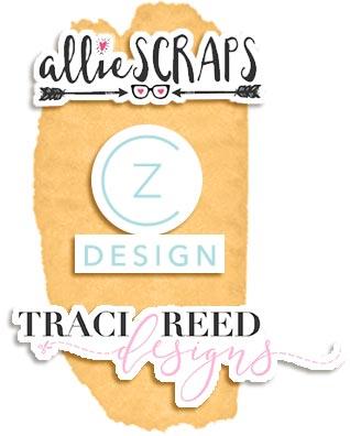 The Best Digital Scrapbooking Designer Shops including Cathy Zielske, Allie Scraps, and Traci Reed Designs
