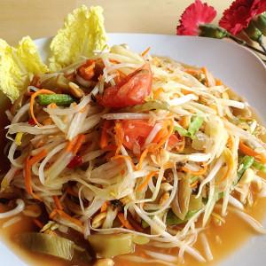 Thai Style Papaya Salad