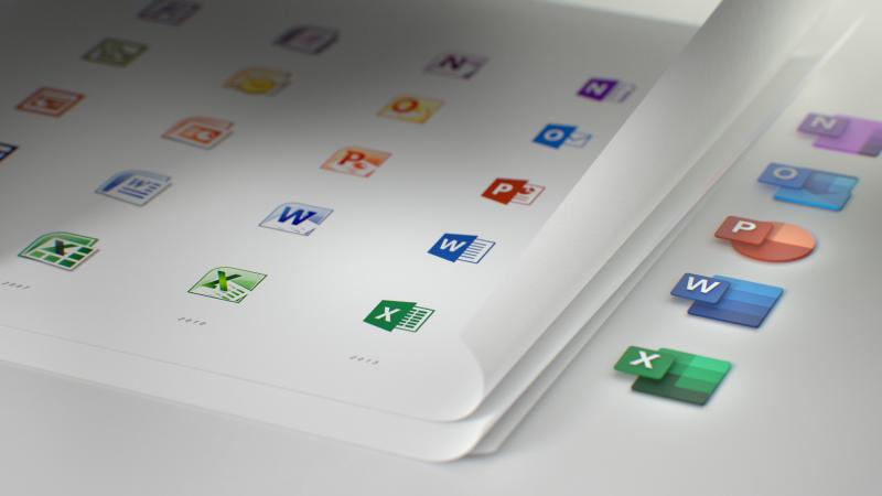 Microsoft lança os novos ícones do Office