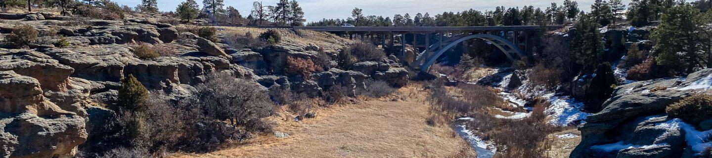 Winter Ride to Castlewood Canyon, Colorado