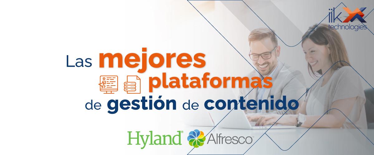 Las mejores plataformas de gestión de contenido