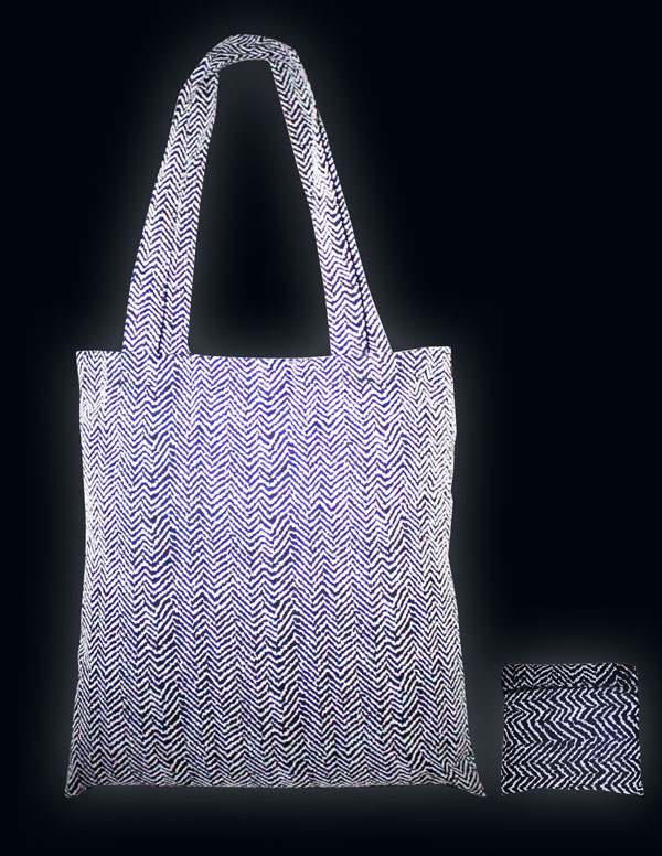 2-Pk Packable Tote Night