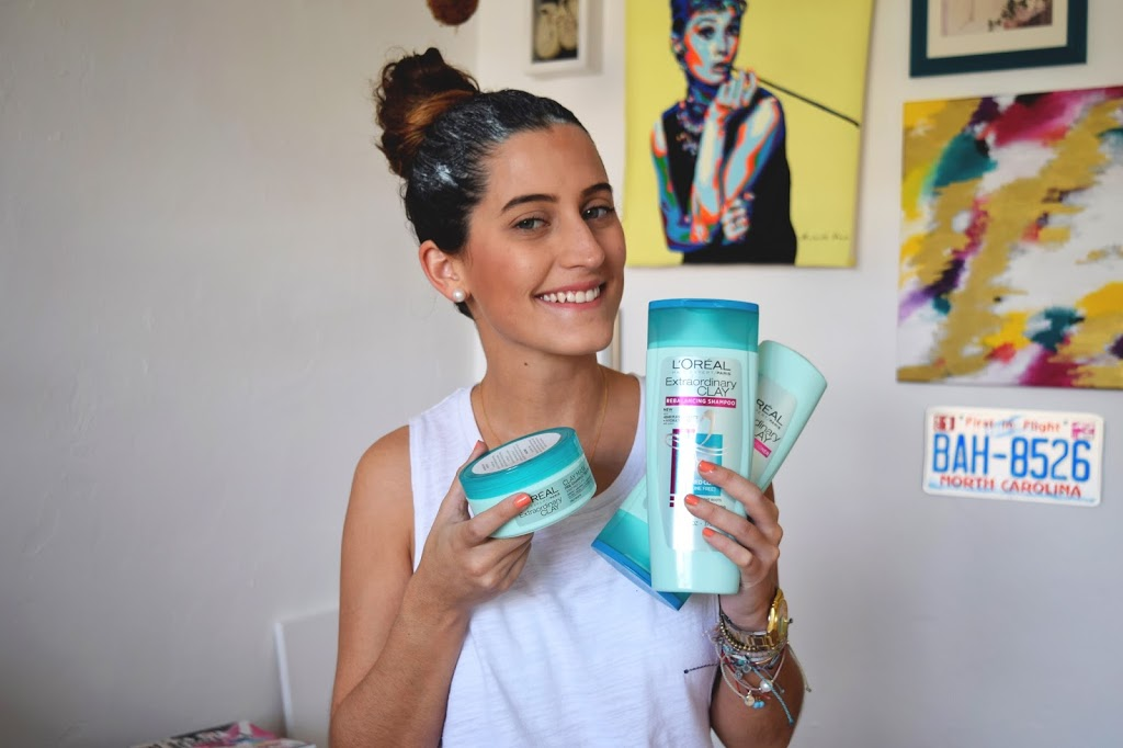 First Impression – L'oreal Extraordinary Clay Hair Treatment