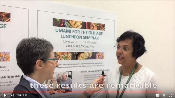 Asian Congress of Dietetics umami symposium