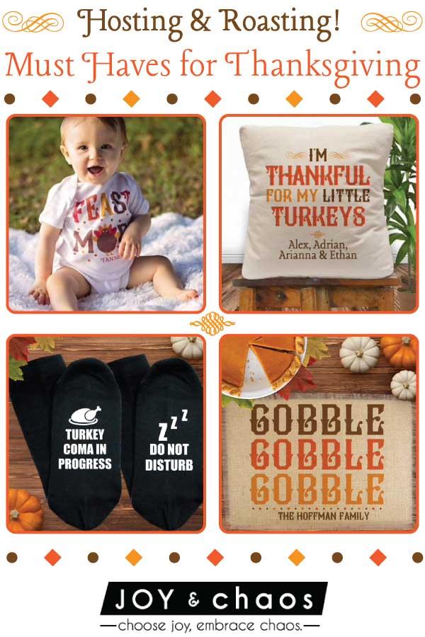 Custom Thanksgiving GIfts