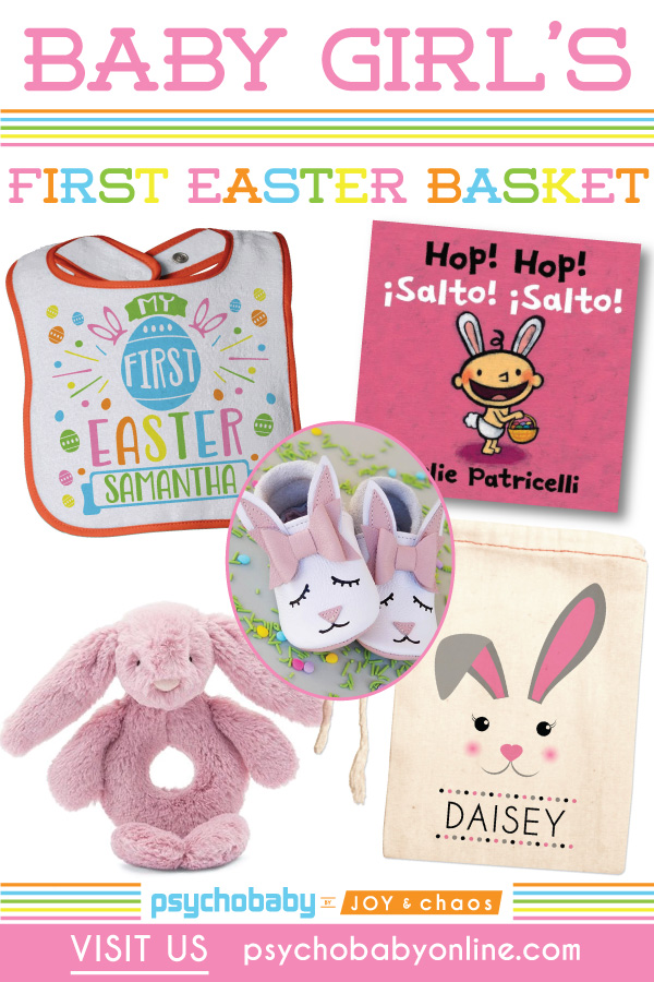 Baby Girl's First Easter Basket
