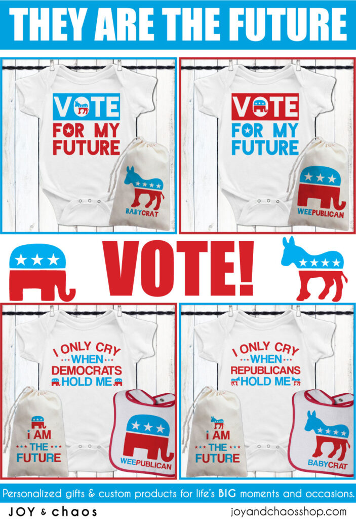 Political Baby Clothes and Gifts