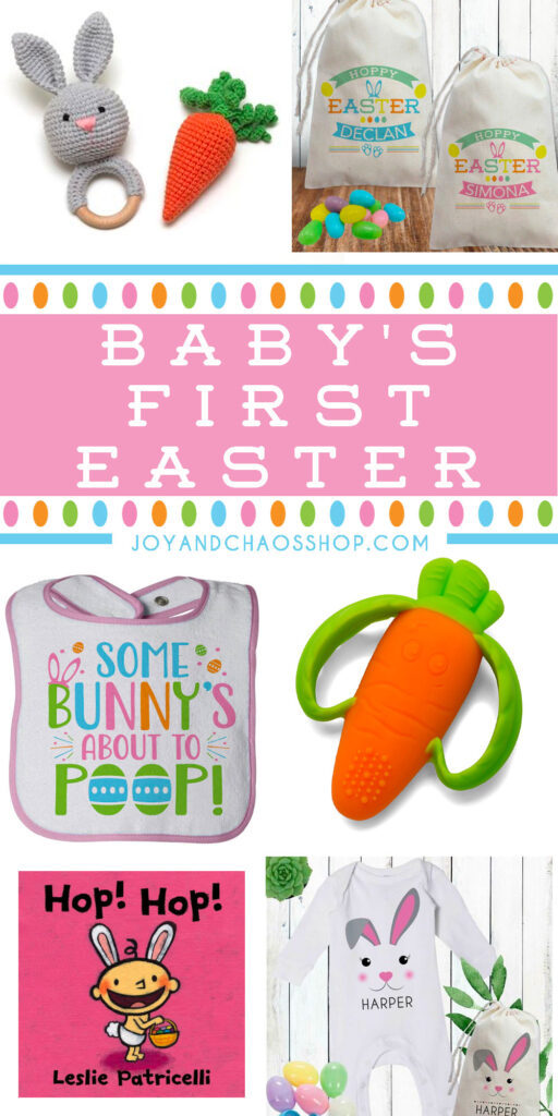 Baby's First Easter - Personalized Gifts and Clothing for Baby Girls and Boys