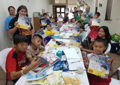 捐贈中英文童書