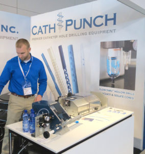 medtec catheter hole drilling experts Cath-Punch
