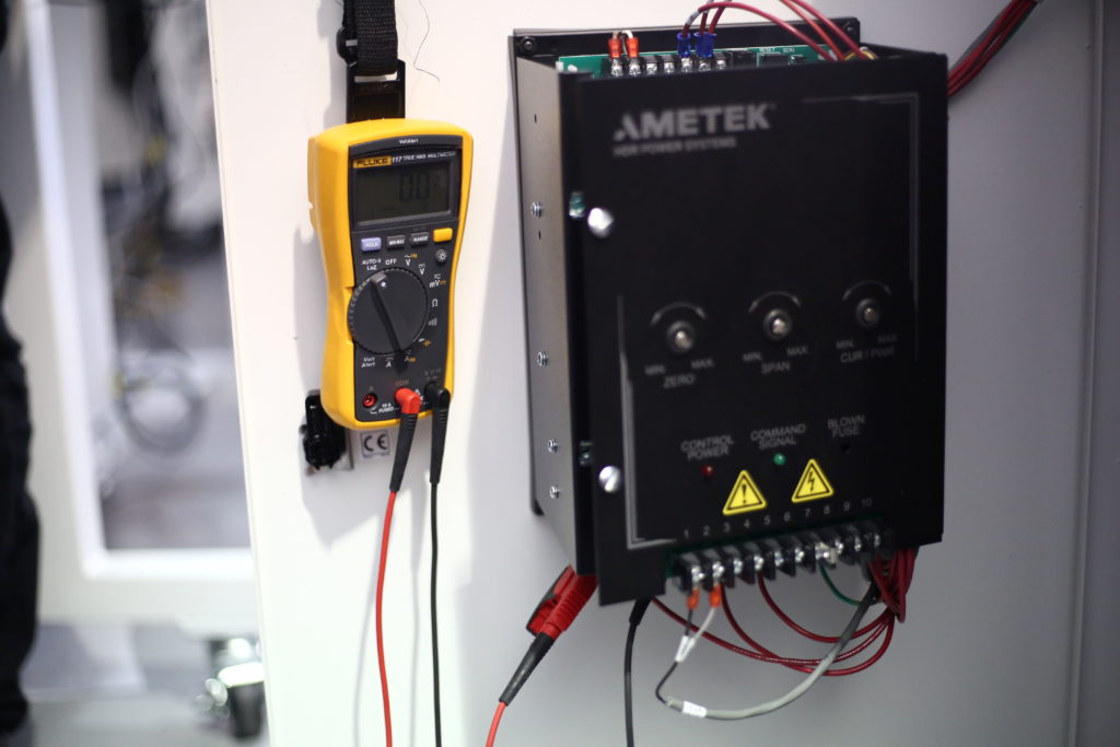 catheter tipping machine calibration