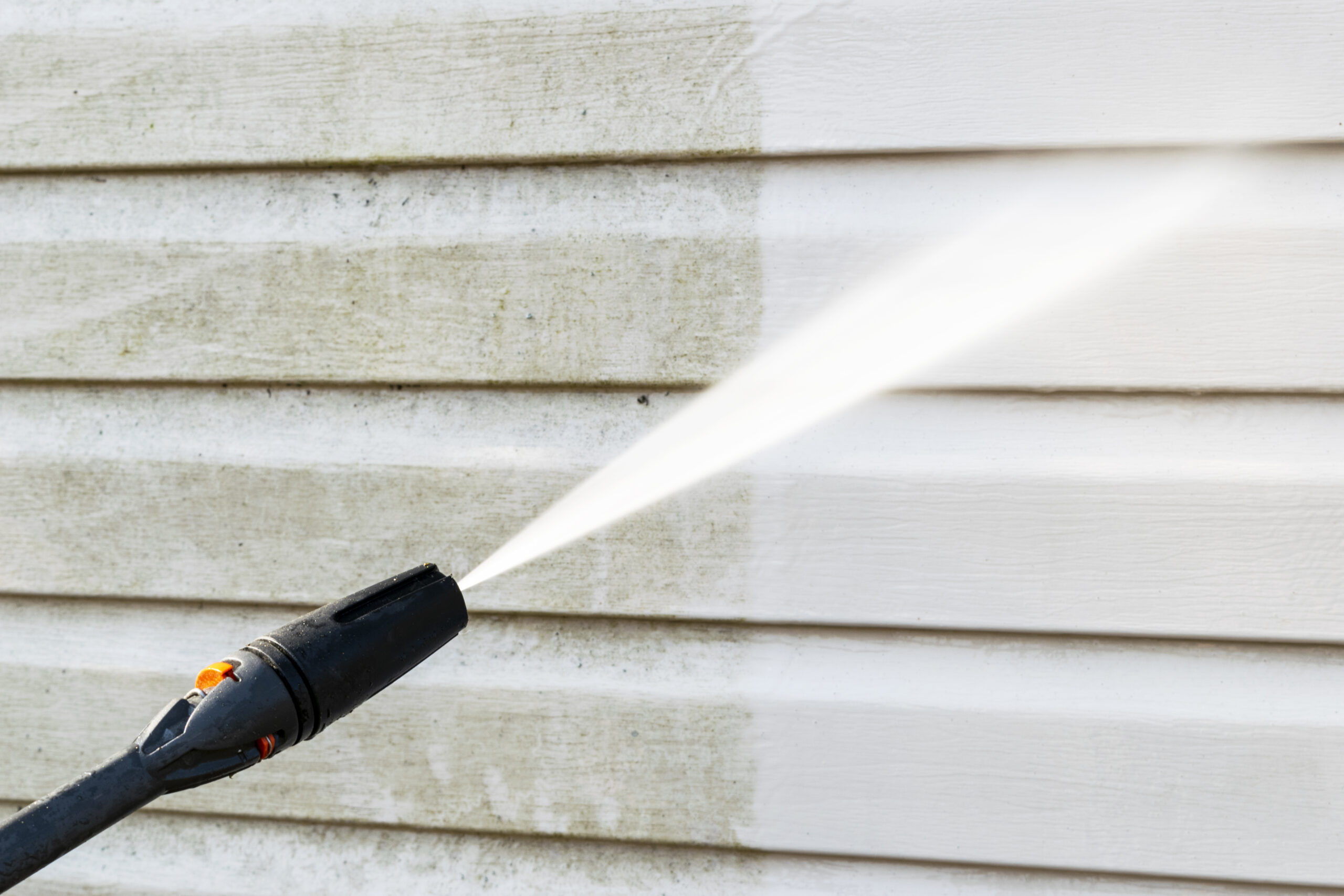 Pressure washing your home