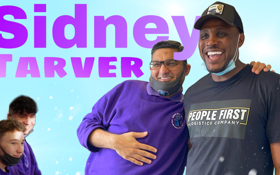 Sidney Tarver, Former NFL Player And Entrepreneur, Inspired Our Team With His Words Of Wisdom