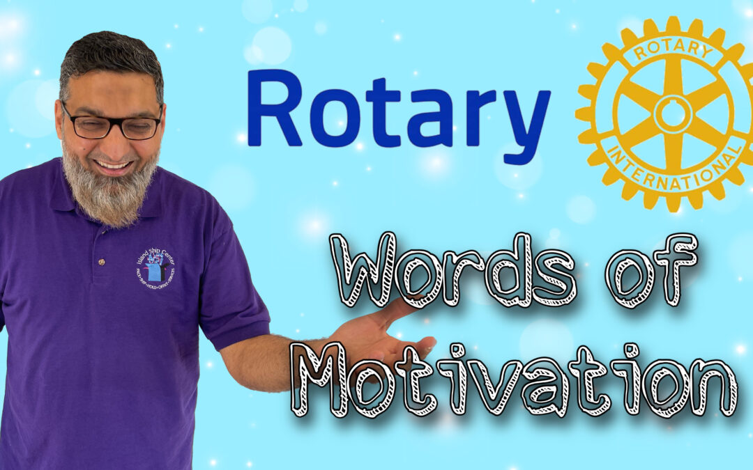 Fahim's Motivational Speech For The Grand Island Rotary Club