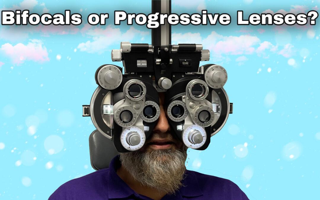 Fahim's Visit To Grand Island Optical For Progressive Lenses