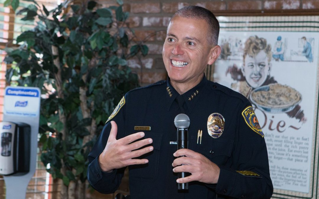 Chamber May Breakfast with Police Chief Vasquez