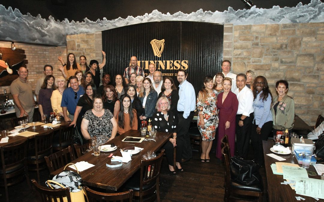 Hooleys Mixer & Annual Meeting Hits a Home Run & Board Members are Elected