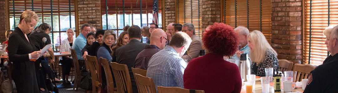 Fire Chief Steve Swaney of Heartland Fire and Rescue was Our Breakfast Speaker on October 16th