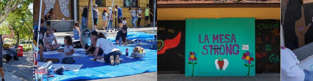 The La Mesa Community Comes Together At Randall Lamb's