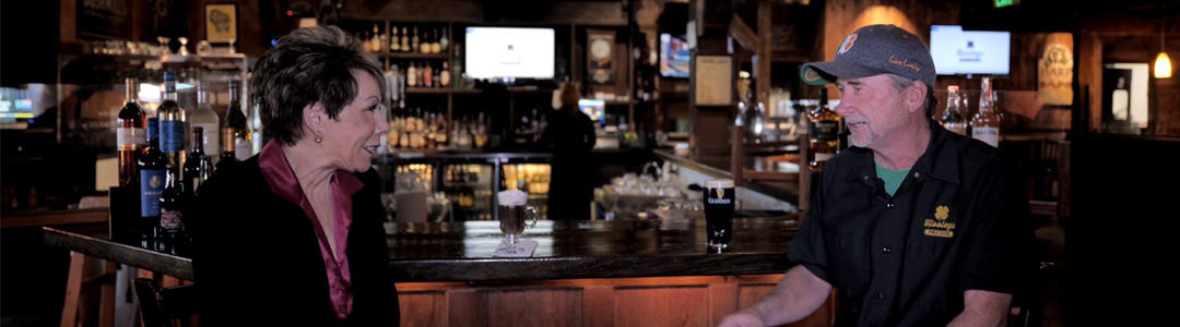 """""""La Mesa Live"""" Visits Hooleys Public House in Grossmont Center – We Urge You to Celebrate St. Patrick's Day All Month Long!"""