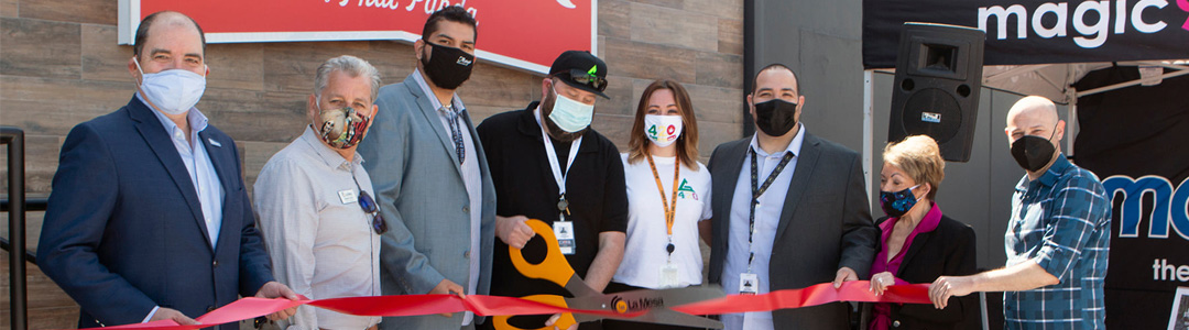 EMBR Dispensary's Open House & Ribbon Cutting is a  Festive Celebration!