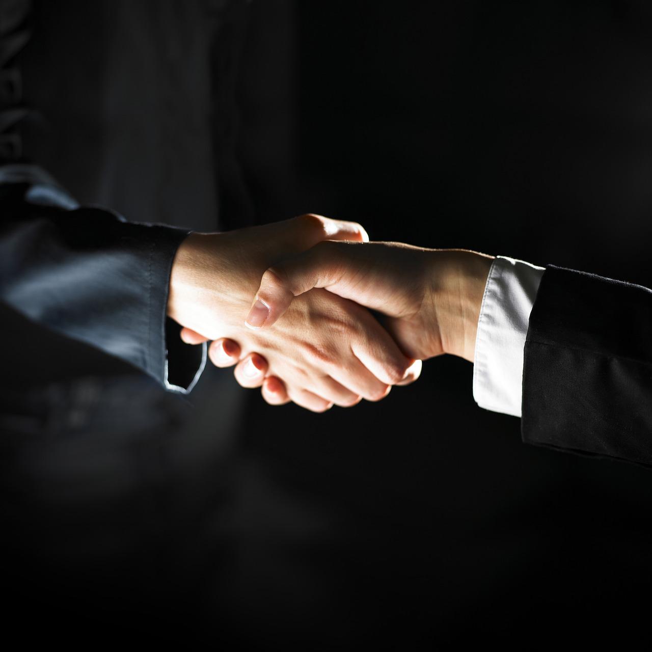 business, cooperation, handshake