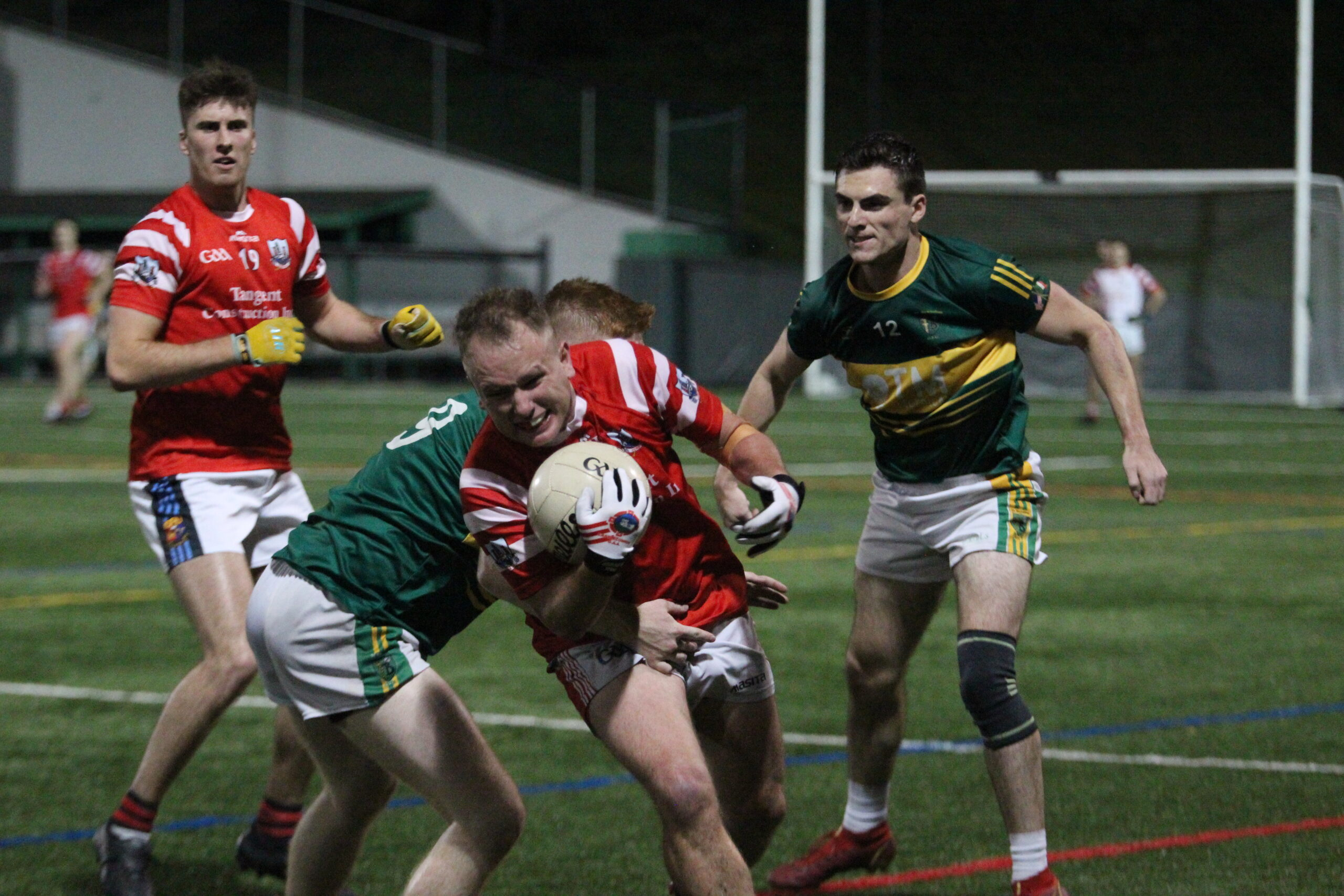 Cork's Niall Judge on the ball (Photo by Sharon Redican)