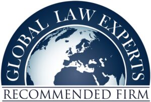 Global Law Experts Recomended Firm