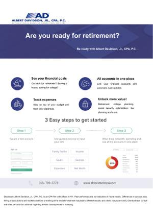 Financial Planning PDF Flyer