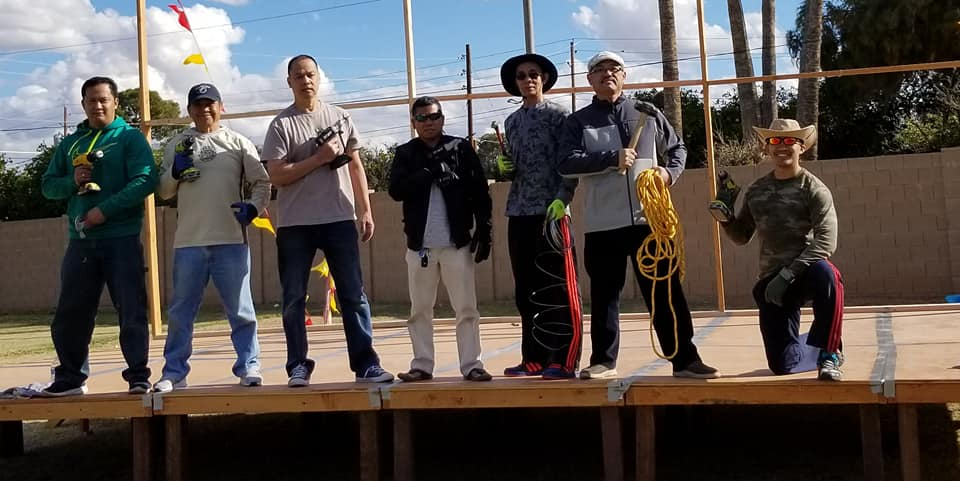 Fil-Am Church Arizona Men at Work 03