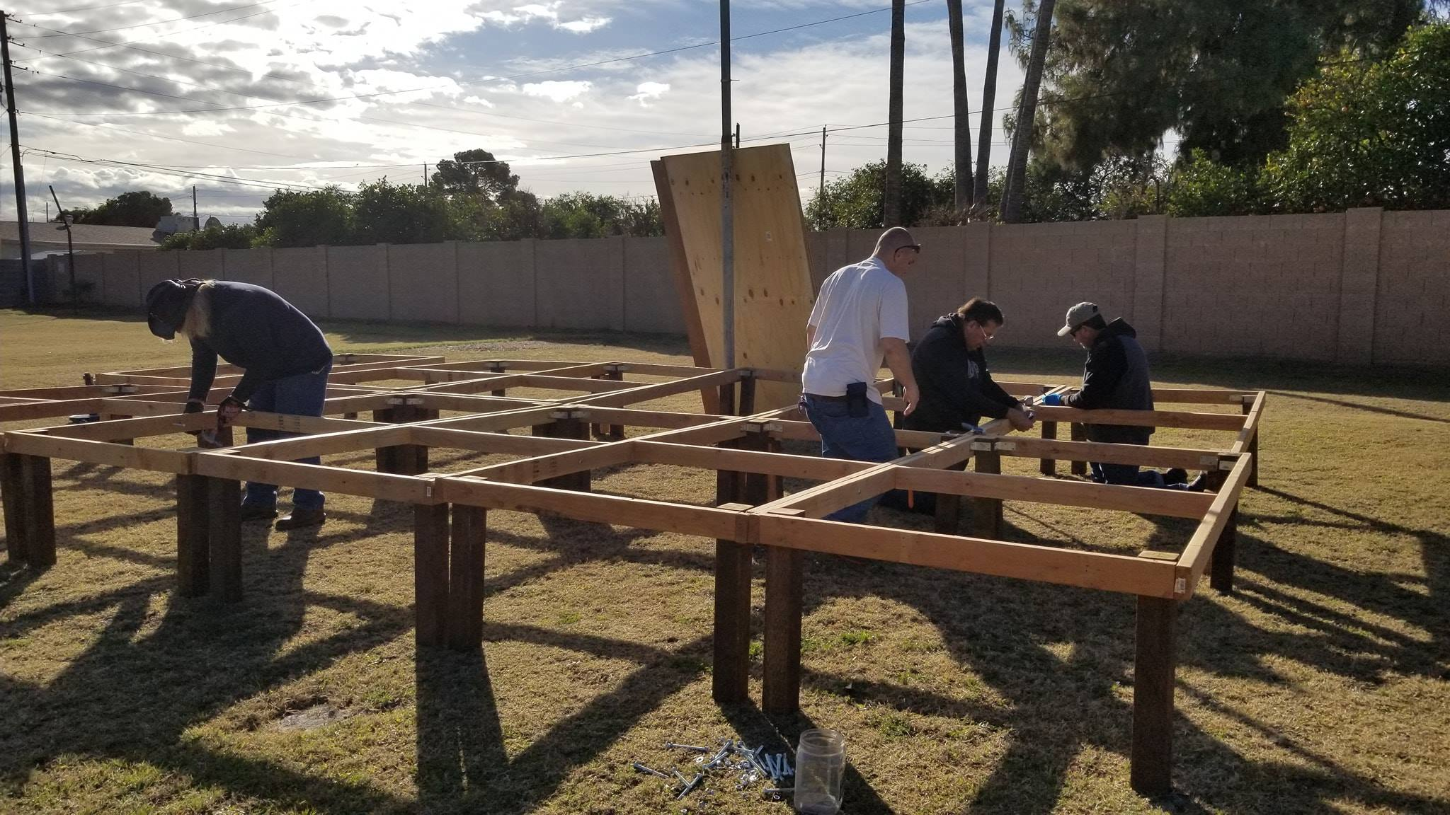 Fil-Am Church Arizona Men at Work 09