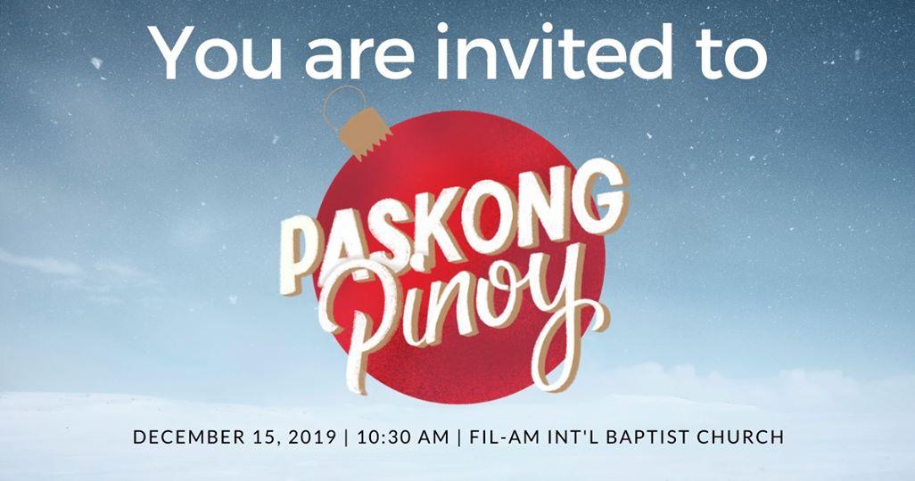 Paskong Pinoy