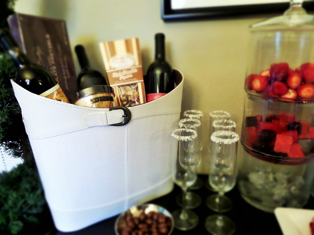 Wine tote as a hostess gift