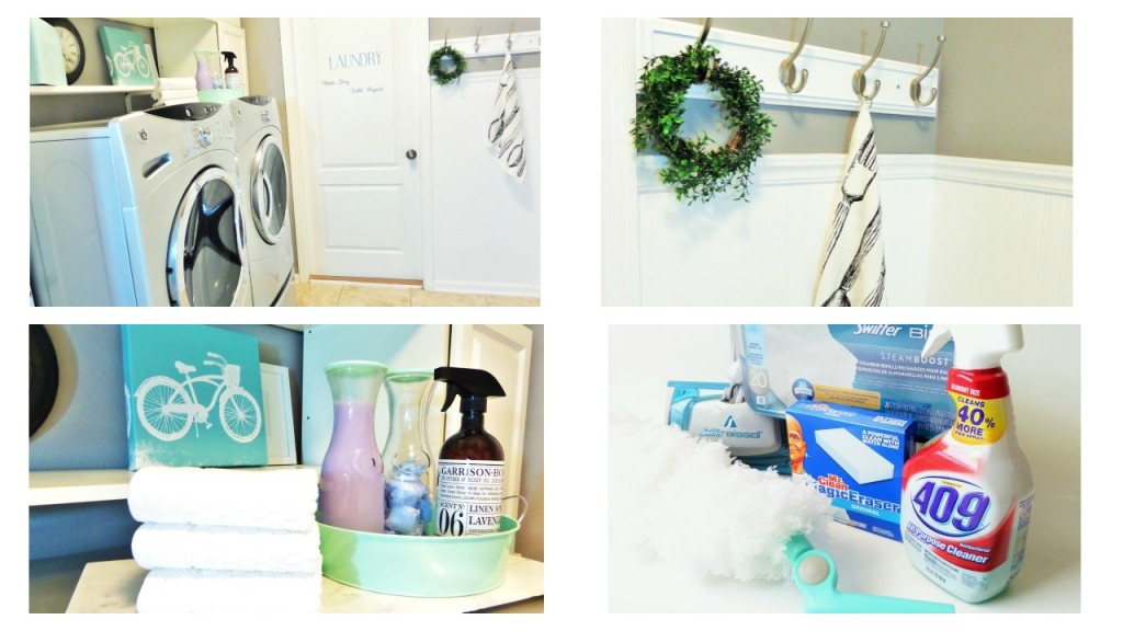Spring Cleaning Laundry room refresh