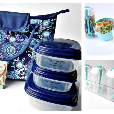 Packable Healthy Breakfast + Lunch Ideas and Give-A-Way