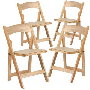 203 Folding Chair Resin Easy Natural
