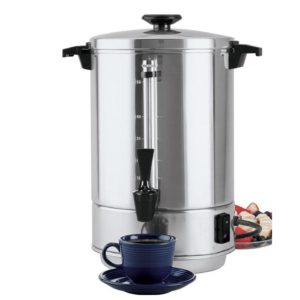 A Stainless Steel 55 Cup Maker