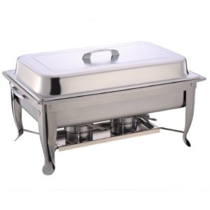A Stainless Steel 8QT Rectangle