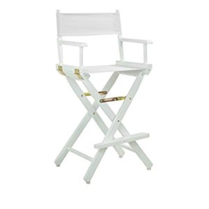 602 Directors Chairs White On White