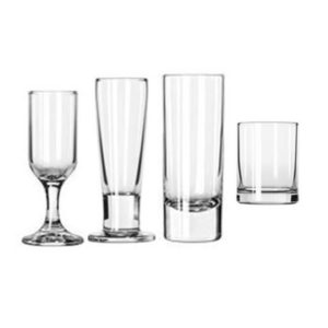 545 Shot Cordial and Tasting Glasses