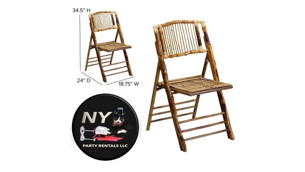 bamboo folding chair for rent
