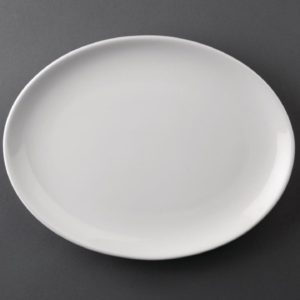 CA Coupe Dinner Oval Plate