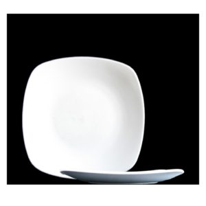 CA Coupe Lunch Square Plate