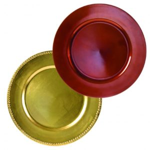 Charger Plates Lacquer Round