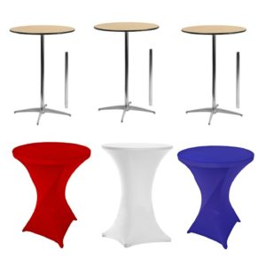 812 Spandex Tablecloths With Tables