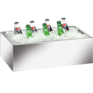 166 Beverage Ice Mirror Finish with Pan