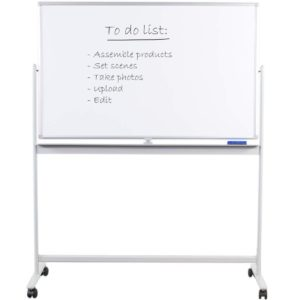 A Whiteboard And Dry Erase Board
