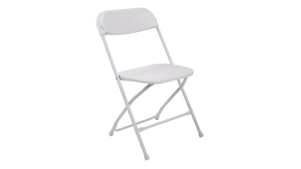 102 Folding Chair Affordable White