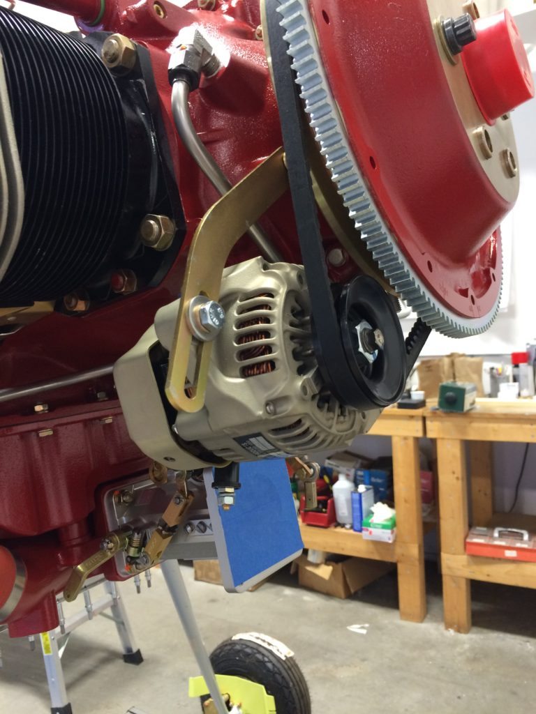 The alternator